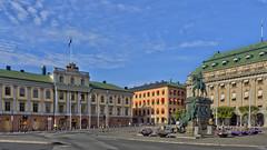 Gustav Adolfs torg, Stockholm (PriscillaBurcher) Tags: stockholm gustavadolfstorg arvfurstenspalats gustavadolfssquarestockholm l1070551