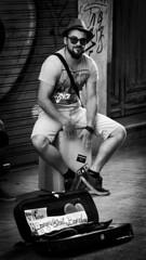 Playing box (JC Padial) Tags: street music playing artist box band caja msica artista musico