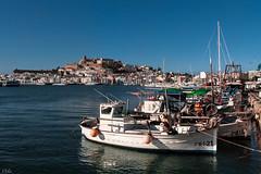 IMG_2731 (ibzsierra) Tags: blue sea sky azul port canon puerto boat mar mare barco vessel ibiza cielo 7d eivissa bateau baleares pesqueos