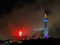 Niagara Falls Fog (RandyFinch) Tags: skylontower border newyork niagarafalls
