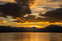 Hills Over Luss (intrepidscotland) Tags: dubh ben hills park national trossachs lomond loch sunset