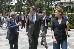 Mariano Rajoy a su llegada al acto (Partido Popular) Tags: rajoy pp marianorajoy partidopopular 26j eleccionesgenerales cospedal mariadolorescospedal