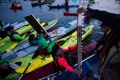 Small vivien at Luminary flotilla in Seattle PI and associated press at Break Free PNW 2016 photo by GRANT HINDSLEY 1024x1024 (Backbone Campaign) Tags: water justice washington energy kayak break action politics protest creative paddle shell free social demonstration oil change wa environment activism anacortes campaign pnw refinery climatechange climate tesoro artful backbone renewable refineries 2016 kayaktivist kayaktivism breakfreepnw