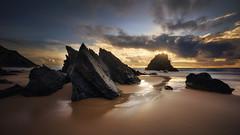 Touch my lips (Joo Cruz Santos) Tags: sunset seascape beach portugal sintra adraga pnsc