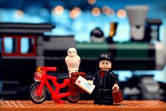 Journeys (Frost Bricks) Tags: lego harry potter minifigure