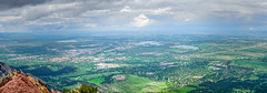 Boulder - From Bear Peak (BernieErnieJr) Tags: panorama landscape overcast boulder rockymountains frontrange bearpeak greatphotographers bouldercounty teamsony sony2875mm sonylaea4adapter sonya6300