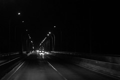 B&W Night in Rupsha Bridge (shah_jaman) Tags: bw bridge bangladesh pattern monochrom beautifulbangladesh nightimage blacknwhite