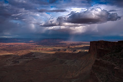 Approaching Storm (campmusa) Tags: storm clouds spring may moab utahtrip 2016 canyonland masaarch nikond750