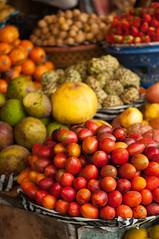fresh fruit for sale (Sam Scholes) Tags: market bedugul travel yellow bali fruit vacation indonesia shopping red baturiti id