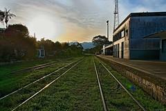 D71_4810 (1)za (A. Neto) Tags: old railroad sunset sun color nikon trainstation decadence morretes d7100 nikond7100 sigmadc18250macrohsmos