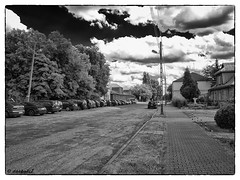 Dblika stacja kolejowa / The Deblin railway station (darkadi1) Tags: station poland polska railway olympus railwaystation dblin kolejowa stacja stacjakolejowa mzuiko m1442mm epl6