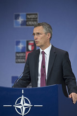 Press conference by the NATO Secretary General following the meeting of the North Atlantic Council (NATO) Tags: brussels belgium general jens secretary nato stoltenberg