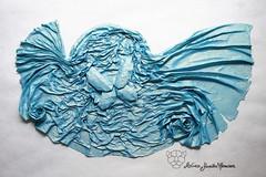 Peace (Yureiko) Tags: art paper origami kunst sch papier tessellation paperfolding  tsch  papierfalten yureiko shiborigami