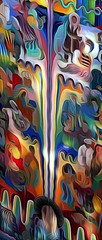 Mural of Dreams (incidencematrix) Tags: sanfrancisco california postprocessed art blackberry artistic gimp priv
