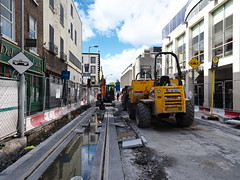 Luas Cross city Works on Marlborough Street (turgidson) Tags: olympus omd em5 olympusomdem5 olympusem5 micro four thirds microfourthirds mirrorless m43 m zuiko digital ed 12mm f20 f2 olympusmzuikodigitaled12mmf20 prime lens primelens wide angle wideangle silkypix developer studio pro 6 silkypixdeveloperstudiopro6 raw luas ireland dublin public transport publictransport light rail lightrail tram infrastructure transportinfrastructureireland transdev cross city luascrosscity construction track laying marlborough street marlboroughstreet p7023807