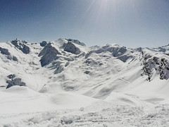 Absolument blanc (jadezoephotos) Tags: world winter mountain snow france alps montagne alpes landscape 50mm hiver explore neige grainy paysage discover newworld