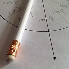 270 (DelaneyRice) Tags: bw white circles math degrees trigonometry radians
