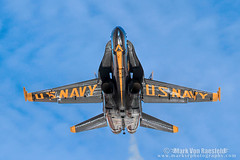 Reflections (mvonraesfeld) Tags: blue winter training fighter aircraft aviation military centro navy el angels hornet usn naf fa18 img4963