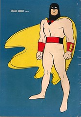 Space Ghost No. 1 Pin-Up (Gold Key 1966) (Donald Deveau) Tags: cartoon comicbook spaceghost tvshow pinup hannabarbera goldkey 1960stv