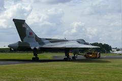 Avro Vulcan (XH558) (Gareth Can't Fly) Tags: airshow international vulcan bomber fia farnborough raf avro 2014 xh558 vtts gvulc fia2014