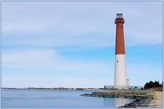 Ole Barney Lighthouse (Thomas W Gorman) Tags: nj ole longbeachisland coastline barney barnegatlighthousestatepark filtering xpose barnegatlighthousejetty photoshopelements9 pentaxkxdslr124mp pentax1855mmwrlens
