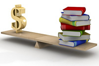 Sign dollar and the books on scales. 3D image. (ira1942) Tags: above school sign illustration training paper book wooden 3d education commerce symbol budget library graduation archive objects business study cover pile scales dollar instrument knowledge balance copyspace profit bale comparison success financial investment tool currency income learn isolated equality measuring overweight finance equilibrium concepts measurement invest threedimensional investing stability bookprinting bookprinter