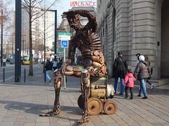 Robotcop (GeckoZen) Tags: alsace terminator sculptures mulhouse hautrhin robotcop soudeur schweisser