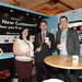 Showtel Nicola Cunningham & James O'Sullivan, Grabone and Stephen McNally, IHF President