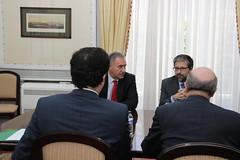 Audiência com a Associação Sindical dos Diplomatas Portugueses