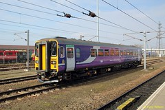 Serco & Abellio 153378 Northern (Copy) (focus- transport) Tags: public train south yorkshire transport central first rail railway grand trains virgin hull trans northern railways doncaster