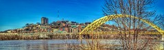 IMG_3204.JPG (Jamie Smed) Tags: bridge 2015 pano river 500d flood iphoneedit app snapseed dslr t1i rebel teamcanon handyphoto hdr sky skies blue reflection reflect trees water autostitch panorama facebook reflections reflects light landscape cincinnati jamiesmed ohio midwest