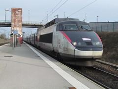 SNCF TGV 39 at Calais Frethun