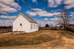 Whenever Two or more gather in my name there am I (Thomas DeHoff) Tags: church rural sony iowa goshen a700