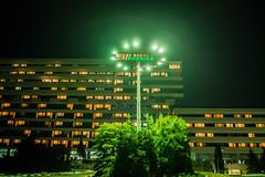 Ustro (nightmareck) Tags: night poland polska handheld fujifilm ustro beskid xe1 owietlenie lskie lski xf18mm rtciowe