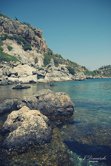 Greece / Rhodes (Jarecki Photography) Tags: people sun holiday animals landscape see boat greece lindos rodhos rodhes