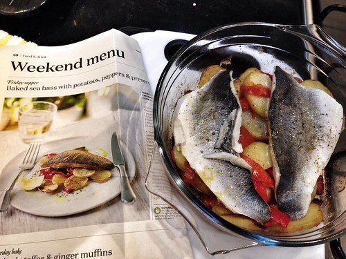 Center Parcs - Baked Sea Bass
