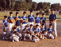 Kirk's Cafe Baseball Team - 1975 (Magic Hour Images) Tags: sports boys sport kids youth southdakota kid cafe team baseball 1975 kirks 1970s siouxfalls