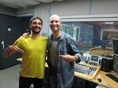 Óscar Tomas y Fran Navarro, nuestros técnicos