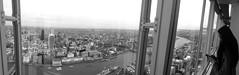 View from the Shard towards the City (neil mp) Tags: panorama london thames architecture skyscraper towerbridge londonbridge gallery view horizon shard gherkin renzopiano toweroflondon southwark walkietalkie cheesegrater viewinggallery stateofqatar theshard irvinesellar
