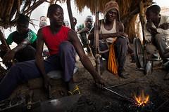The gunsmith's forge, Nigeria (jeromestarkey) Tags: work community handmade victorian craft workshop nigeria labour blacksmith forge tradition militia craftsman yola neighbourhood defence artisan skill vigilante skilled adamawa bokoharam