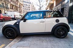 Mini One D - Blanco - Techo Negro - Nº 12