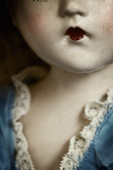Little Lady (AJWeiss71) Tags: old baby face childhood composite female vintage toy toys scary doll pretty mood alone moody child head antique sinister feminine grunge memories neglected evil atmosphere eerie lips dirty haunted creepy crack nostalgia dirt memory worn horror lone nostalgic haunting lonely aged cracks discarded dolly delicate damaged past cracked atmospheric dilapidated haunt grungy thriller amyweiss