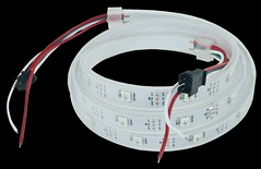 WS2812 Addressable LED: 1M Waterproof Strip (Digilent, Inc.) Tags: blue light red color green project demo student colorful wiring rubber led strip chip leds precision meter professor maker controller brightness 1m waterproof hobbyist educator weatherproof addressable digilent 1meter wf32 prewired ws2812 max32 uc32 24bits 30leds