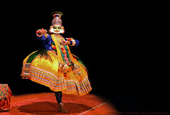 KATHAKALI, WHEN GODS AND DEMONS COME TO PLAY ON STAGE (GOPAN G. NAIR [ GOPS Creativ ]) Tags: art photography cg artist folk dr performance kerala narayanan kathakali gops gopan namboothiri kuchelavrutham gopsorg gopangnair kuchelavritham gopsphotography chandramana