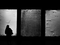 . (Elliott Fusy-Pudal) Tags: blackandwhite bw art girl museum blackwhite noiretblanc modernart nb palaisdetokyo noirblanc florianmichaelquistrebert