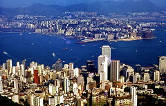 Hong Kong 1980 (gerardeder) Tags: world china travel skyline asia east hong kong reise