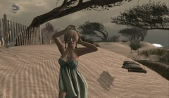 Shi Finds The Wind (Shiny Gothly) Tags: life shiny sl secondlife second shi gothly shinygothly