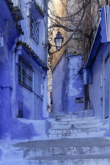 Chefchaouen - Morocco (wietsej) Tags: city blue zeiss sony morocco chefchaouen 1670 a3000 sel1670z
