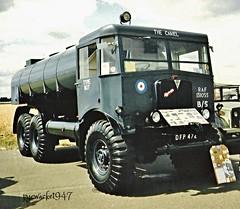 The Camel (pyewacket947) Tags: 6x6 truck transport matador aec refueler wellesbourne thecamel warks exraf dfp742