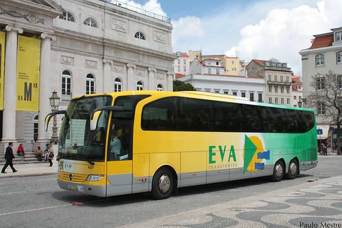 Mercedes-Benz Travego 9827 EVA Transportes, Rossio, 10 de Maio de 2016
